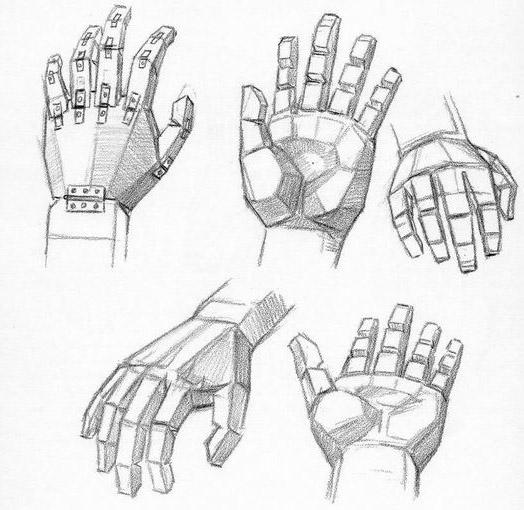 Dessiner les mains - Dessin de mains ...