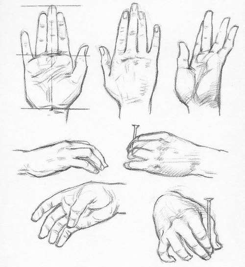 Dessiner les mains - Dessins mains ...